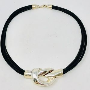 Like 🆕 sterling/leather necklace, Israel, 29.9g